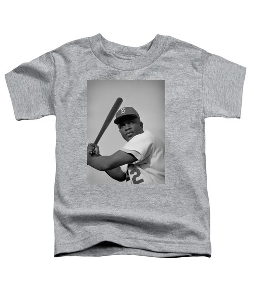 Jackie Robinson - 1954 Toddler T-Shirt