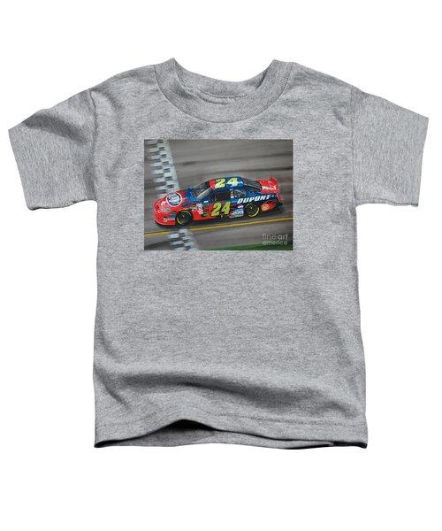 Jeff Gordon Dupont Chevrolet Toddler T-Shirt