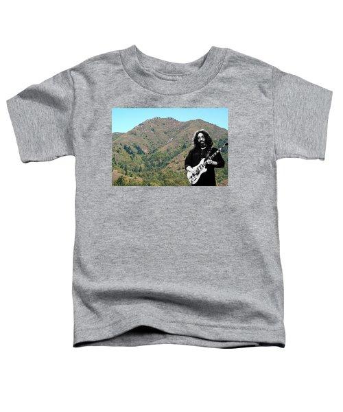 Jerry Garcia And Mount Tamalpais Toddler T-Shirt