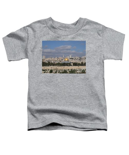 Jerusalem Old City Toddler T-Shirt