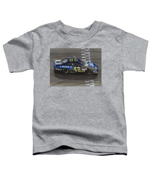 Jimmie Johnson Wins Toddler T-Shirt