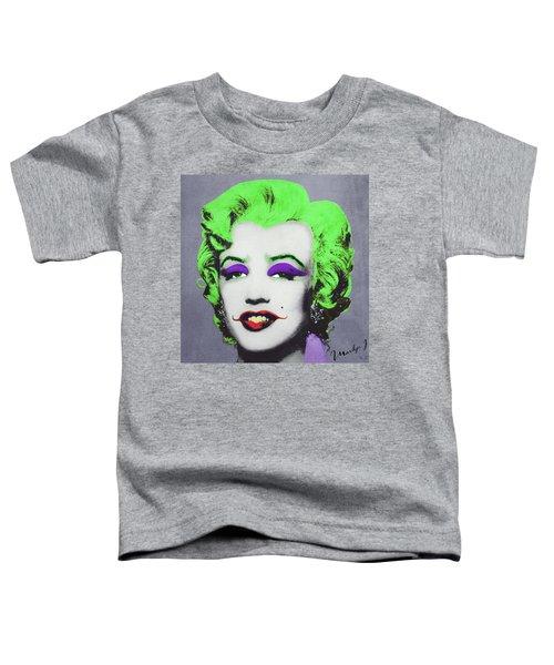 Joker Marilyn Toddler T-Shirt by Filippo B