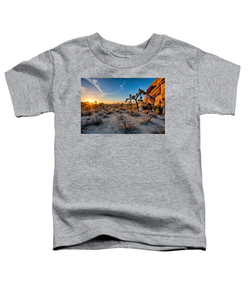 Joshua's Sunset Toddler T-Shirt