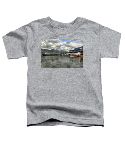 Juneau's Hangar On The Wharf Toddler T-Shirt