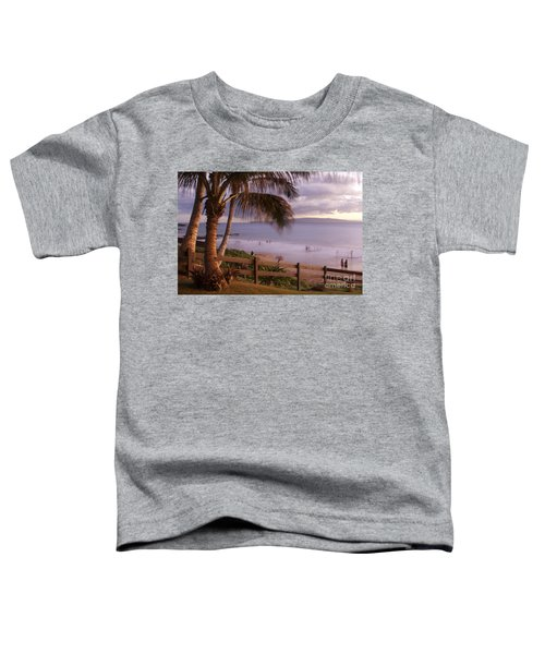 Kai Makani Hoohinuhinu O Kamaole - Kihei Maui Hawaii Toddler T-Shirt