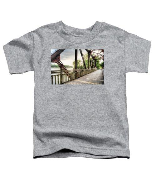 Katy Trail Near Easley Toddler T-Shirt