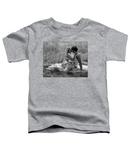 Kiss In The Grass Toddler T-Shirt