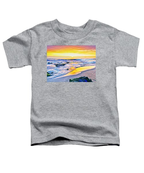 Kona Coast Sunset Toddler T-Shirt