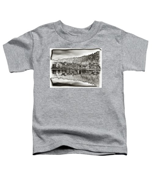 Lake House Reflection Toddler T-Shirt