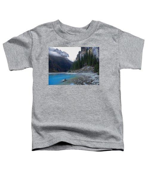 Lake Louise North Shore - Canada Rockies Toddler T-Shirt