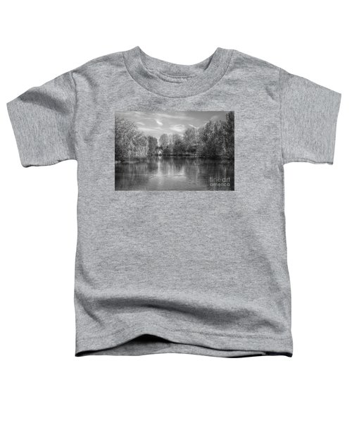 Lake Reflections Mono Toddler T-Shirt