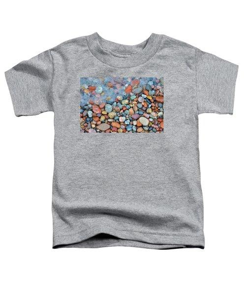 Lake Superior Stones 3 Toddler T-Shirt