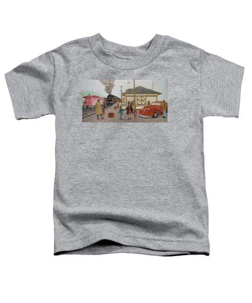 Leaving Sardinia 1944 Toddler T-Shirt