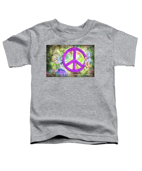 Let There Be Peace On Earth Toddler T-Shirt