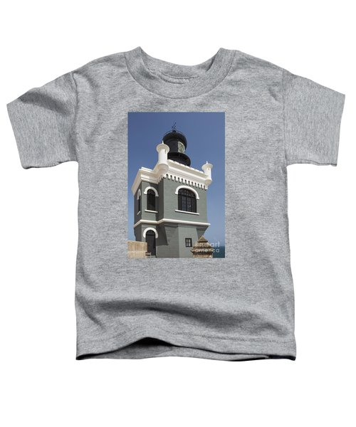 Lighthouse At El Morro Fortress Toddler T-Shirt