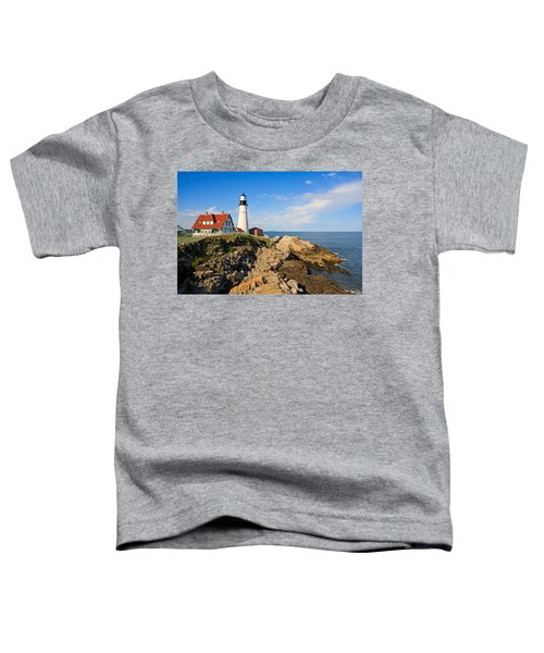 Lighthouse In The Sun Toddler T-Shirt