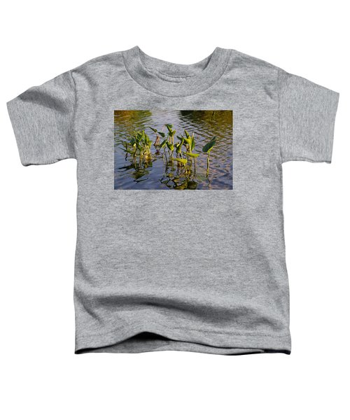 Lillies In Evening Glory Toddler T-Shirt