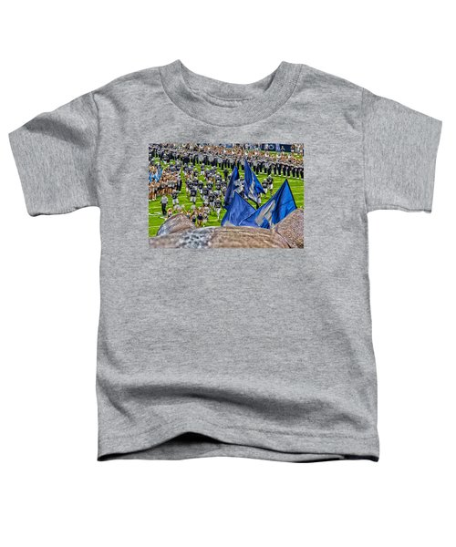 Lion Watching The Entrance Toddler T-Shirt by Tom Gari Gallery-Three-Photography