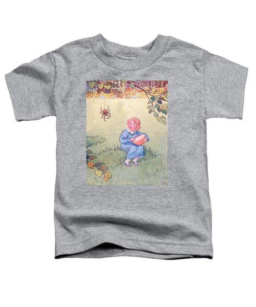 Little Miss Muffet Toddler T-Shirt