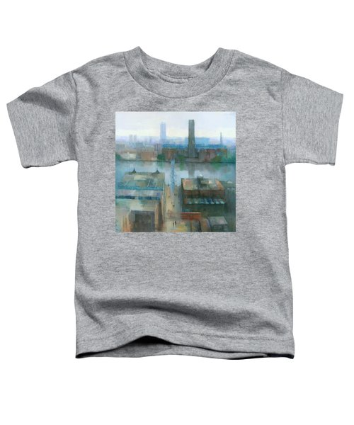 London Cityscape Toddler T-Shirt