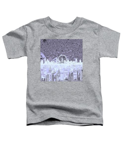 London Skyline Abstract 10 Toddler T-Shirt