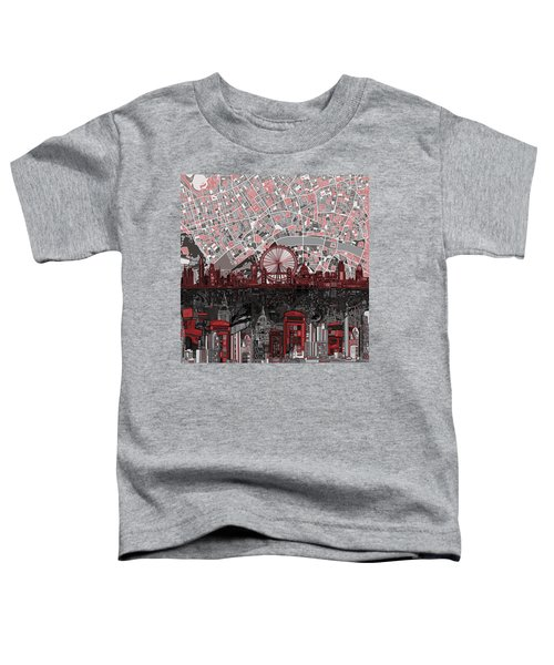 London Skyline Abstract 6 Toddler T-Shirt