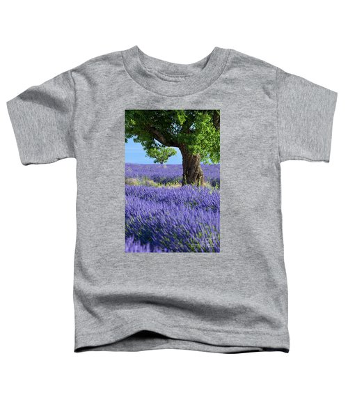 Lone Tree In Lavender Toddler T-Shirt