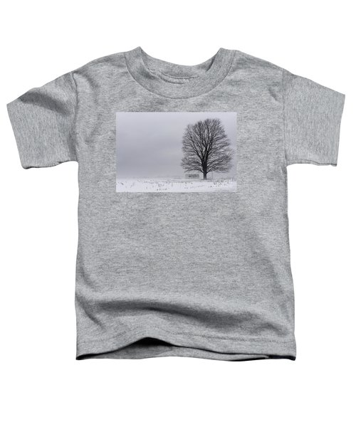 Lone Tree In The Fog Toddler T-Shirt