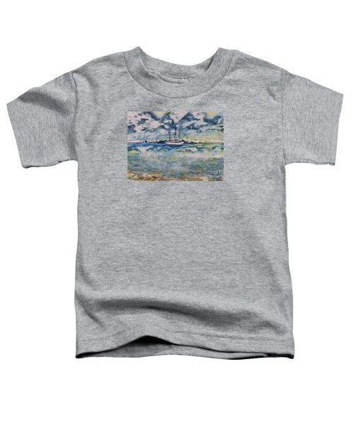 Lone Vessel  Toddler T-Shirt