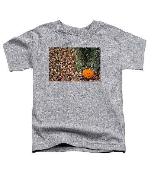 Lonely Pumpkin Toddler T-Shirt