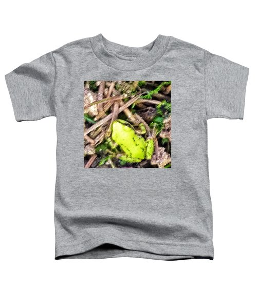 Look Who Hopped By - The Tiniest Baby Toddler T-Shirt