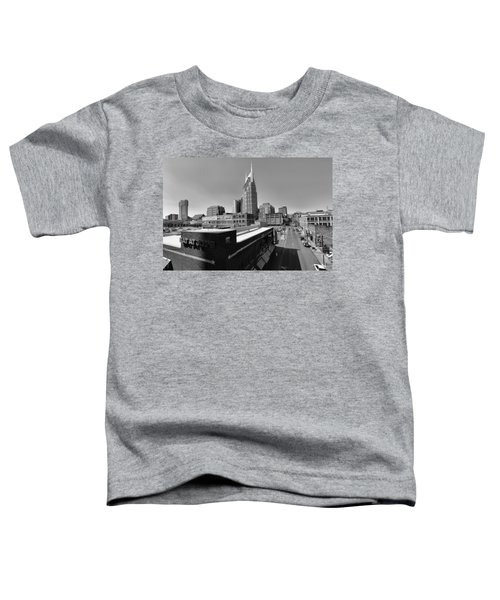 Looking Down On Nashville Toddler T-Shirt by Dan Sproul