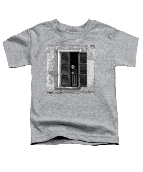 Looking Outside Toddler T-Shirt