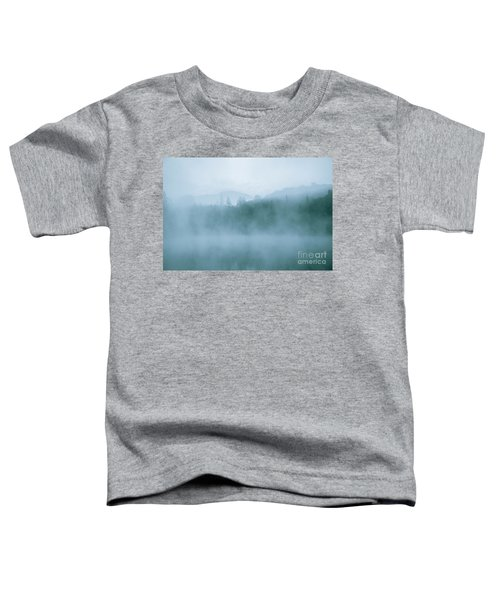 Lost In Fog Over Lake Toddler T-Shirt