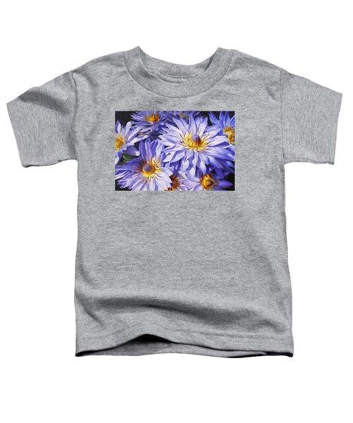 Lotus Light - Hawaiian Tropical Floral Toddler T-Shirt