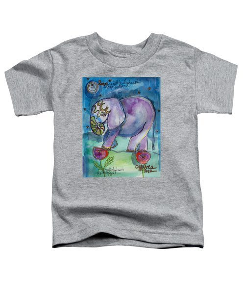 Lovely Little Elephant2 Toddler T-Shirt