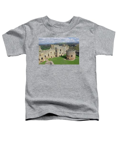 Ludlow Castle Chapel And Great Hall Toddler T-Shirt