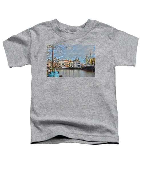 Maassluis Harbour Toddler T-Shirt