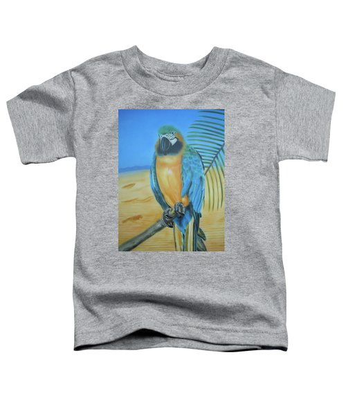 Macaw On A Limb Toddler T-Shirt
