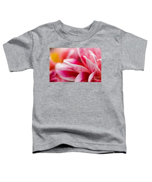 Macro Image Of A Pink Flower Toddler T-Shirt
