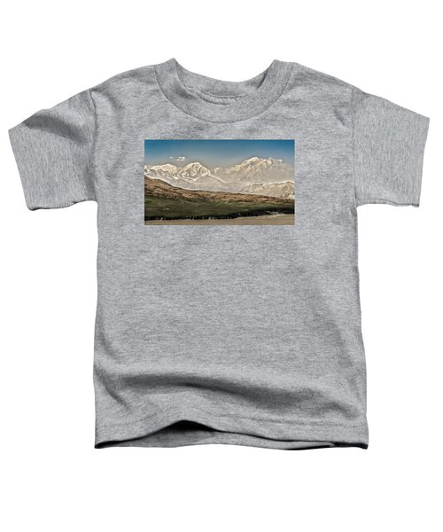 Majestic Mount Mckinley Toddler T-Shirt