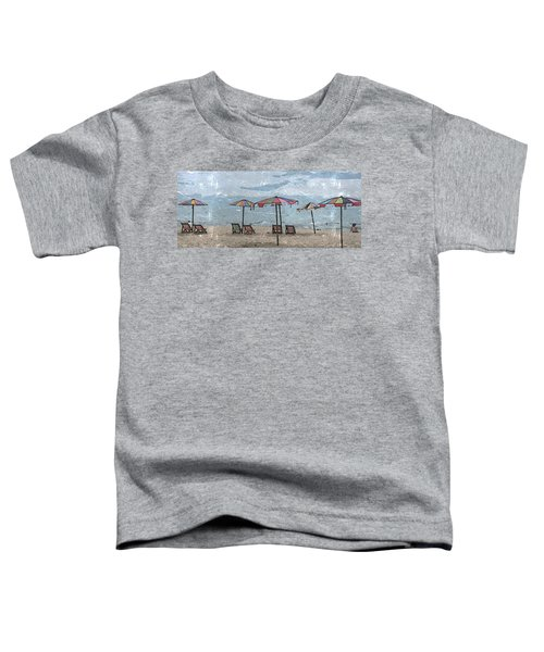 Malazy Day At The Beach Toddler T-Shirt