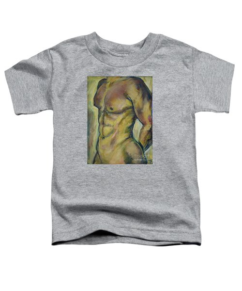 Nude Male Torso Toddler T-Shirt