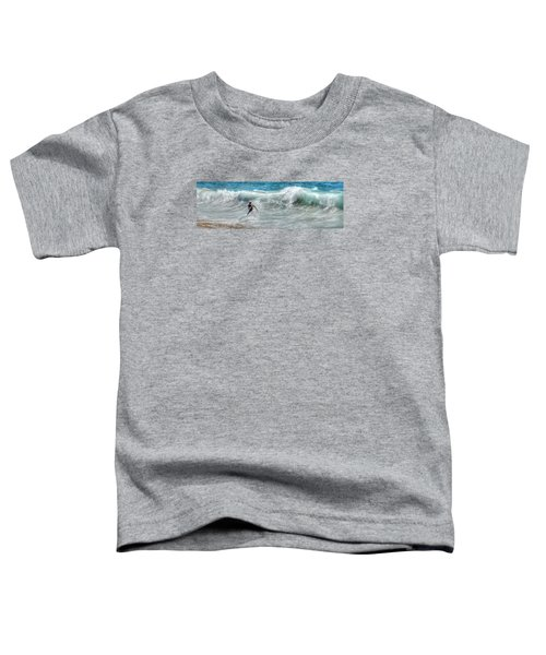 Man Vs Wave Toddler T-Shirt