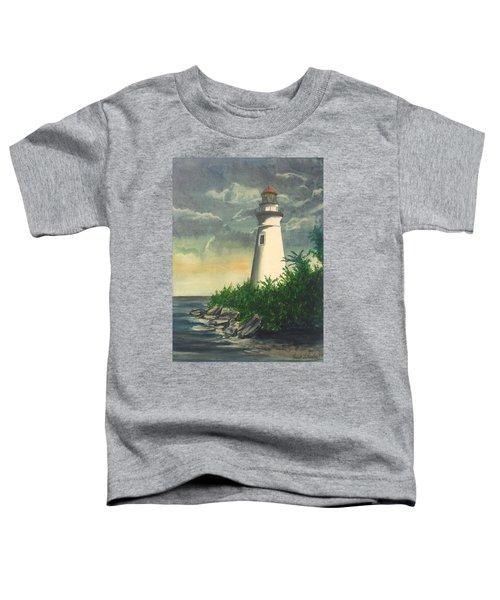 Marblehead Light On Lake Erie Toddler T-Shirt
