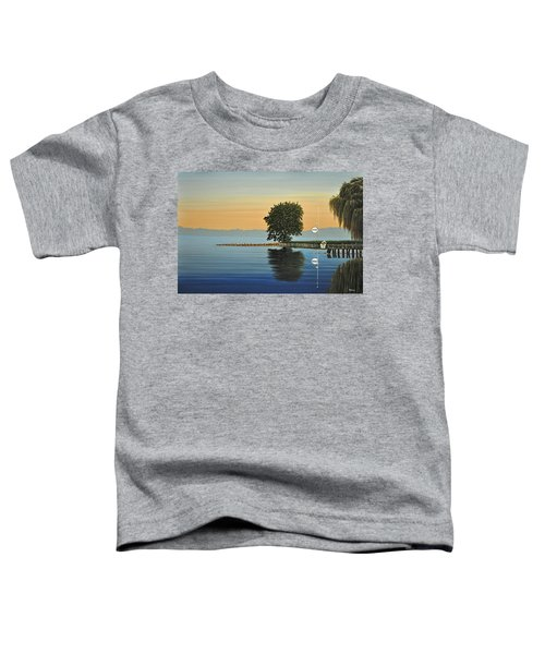 Marina Morning Toddler T-Shirt