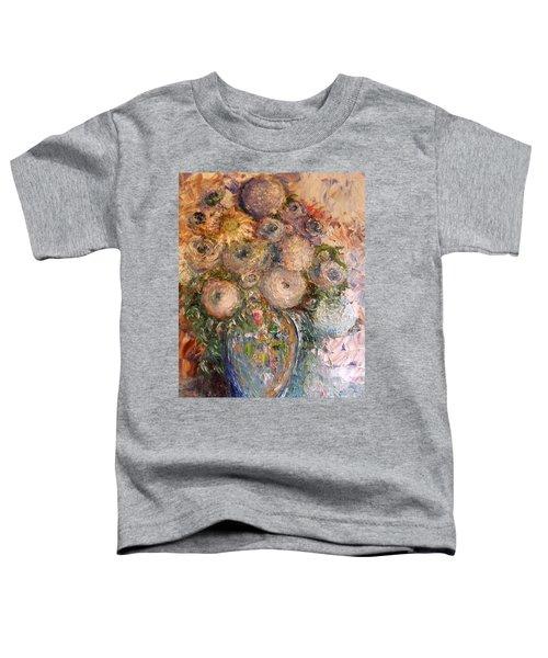 Marshmallow Flowers Toddler T-Shirt