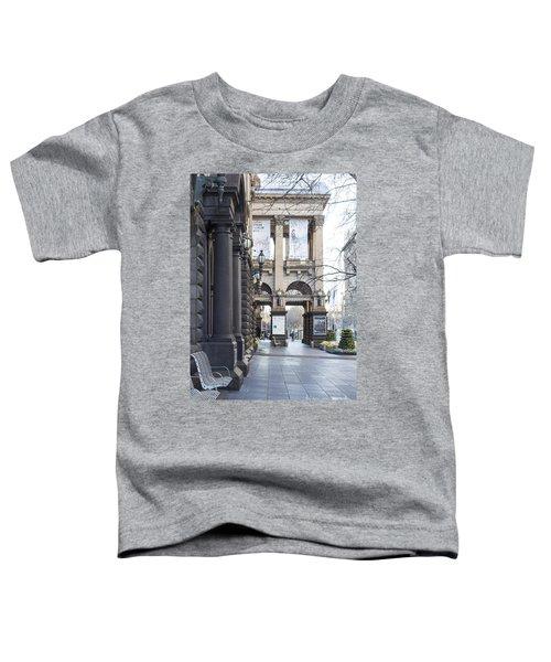Marvellous Melbourne 3 Toddler T-Shirt by Linda Lees