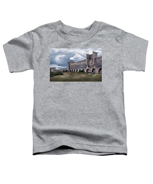 Medieval City Wall Defence Toddler T-Shirt