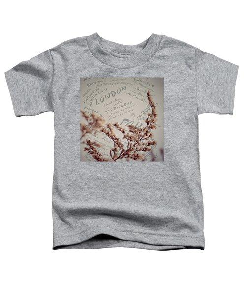 Meet Me In Paris Toddler T-Shirt